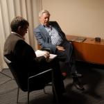 con Vargas Llosa
