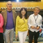 Carmen Lobo, Sergi Doria, Angelica Tanarro, Guillermo Busuti y Guillermo Balbona (i a d). Foto Esteban Cobo