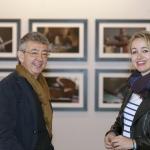 Con la pintora Lina Vila